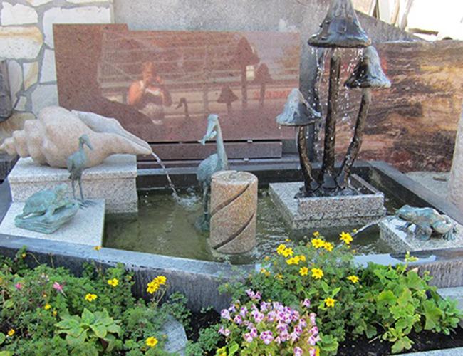 Brunnenanlage