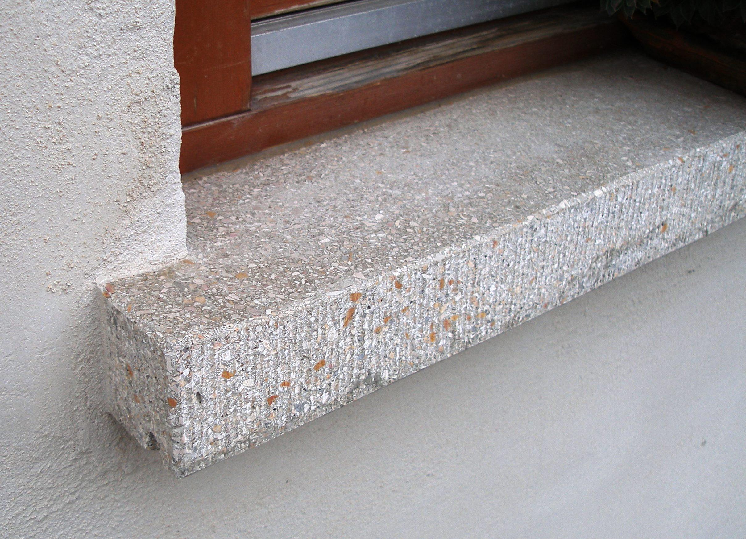 fensterb nke aus betonwerkstein marmor schauz. Black Bedroom Furniture Sets. Home Design Ideas